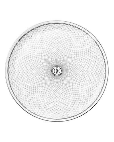 H Deco Tart Platter