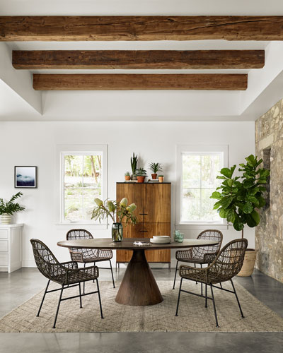 Petra Pedestal Dining Table
