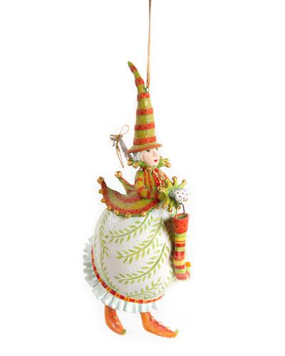 Dash Away Mrs. Santa Ornament