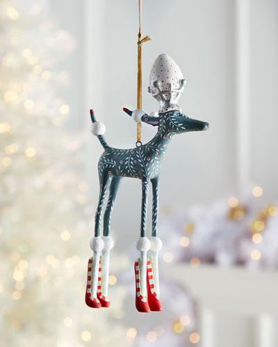 Paul Gray Poodle Ornament