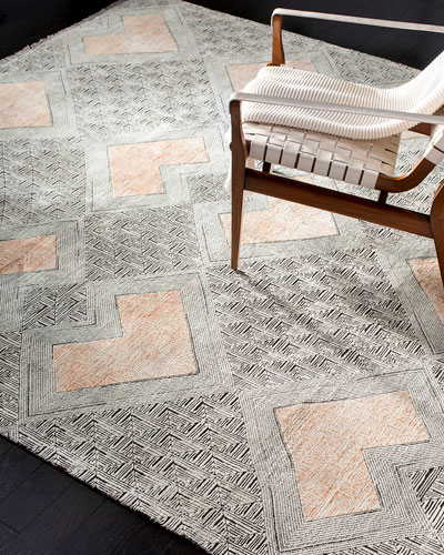 Cannon Hand-Knotted Rug, 9' x 12'