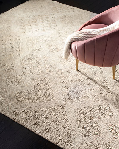 Hartley Hand-Knotted Rug, 8' x 10'