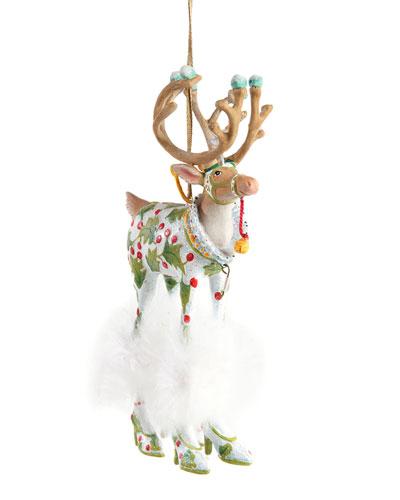 Dash Away Vixen Reindeer Ornament