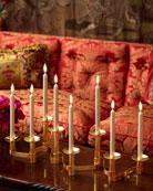 AERIN Evelina Candleholder Centerpiece, Set of 8