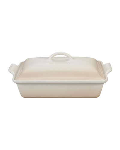 Heritage Covered Rectangular Casserole Dish