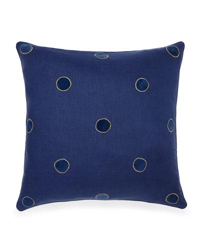 Velvet Dot Pillow