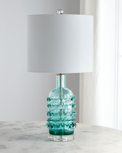 Cristina Hand-Blown Glass Table Lamp