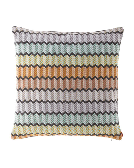 """Missoni Home Waterford Pillow, 24""""Sq."""