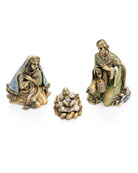Jay Strongwater Holy Family Figurine Set