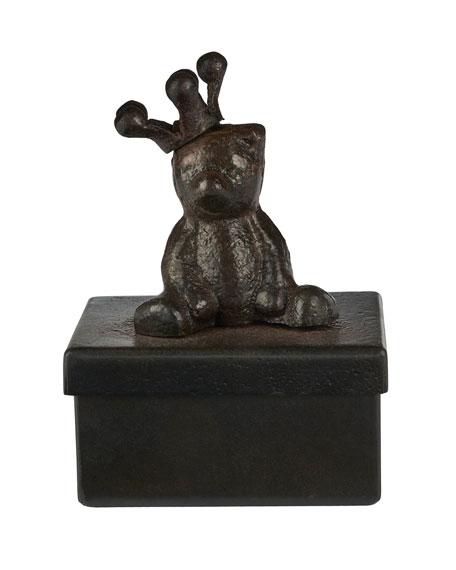 Jan Barboglio Corona Bear Blessing Box