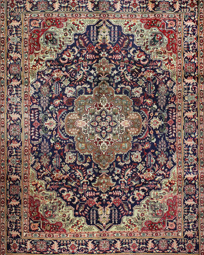 Catherine Hand-Knotted One of a Kind Rug, 9.7' x 12.4'