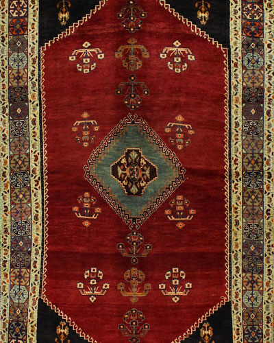 Dabney Hand-Knotted One of a Kind Rug, 5.3' x 8.5'