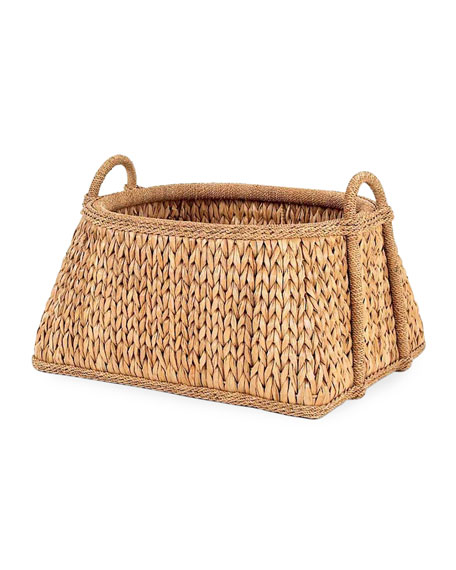 Mainly Baskets Sweater Weave Melon Basket