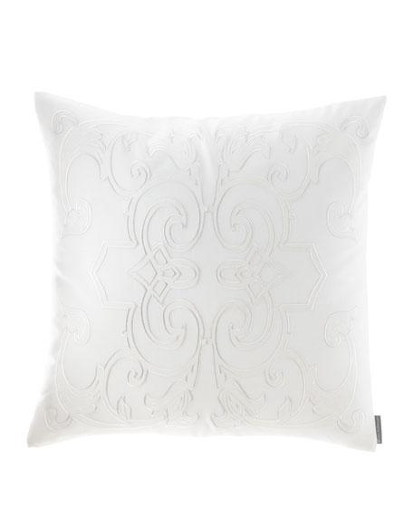 Lili Alessandra Emma Square Applique Decorative Pillow