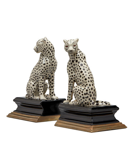 House of Hackney House of Hackney Cheetah Bookends