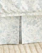 Lili Alessandra Florencia Faded Damask 3-Panel Dust Skirt