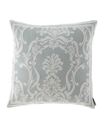 Maria Square Applique Decorative Pillow