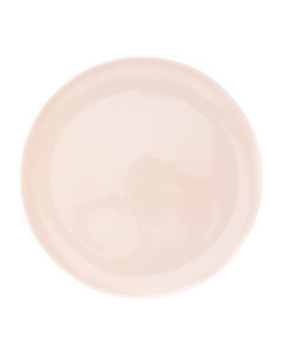 Shell Bisque Soft Pink Dinner Plates, Set of 4