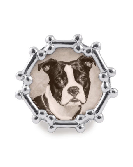 Mariposa Dog Bone Round Frame