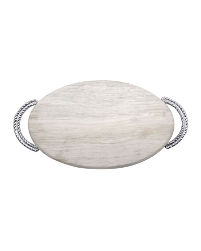 Rope Marble Serving Board