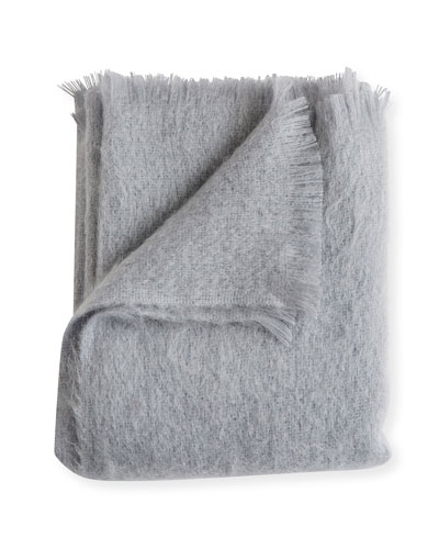 Mohair Throw, Dawn
