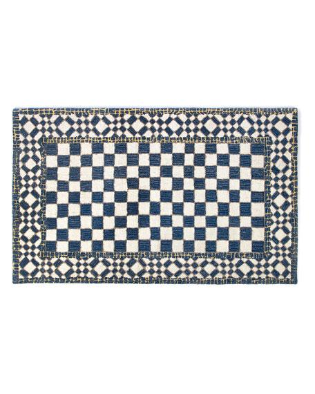 MacKenzie-Childs Royal Check Rug, 3' x 5'