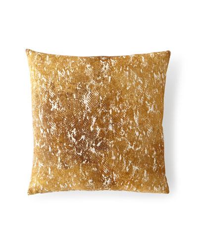 Cobra Gold Decorative Pillow