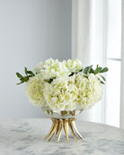 John-Richard Collection Elegant Hydrangeas