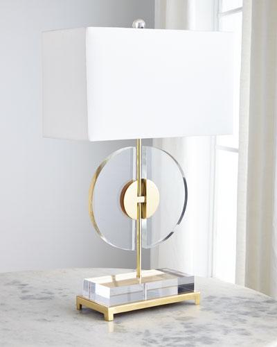 Half Moon Table Lamp