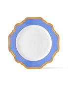 Anna Weatherly Indigo Rimmed Bread & Butter Plate