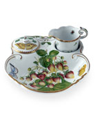 Anna Weatherly Strawberry 3-Piece Tea Dish Set