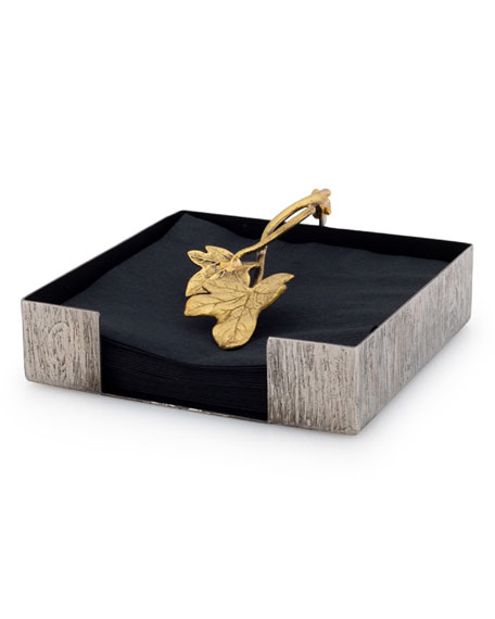 Michael Aram Ivy Cocktail Napkin Holder