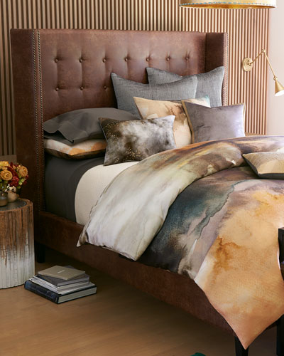 Journey Tufted Queen Shelter Bed