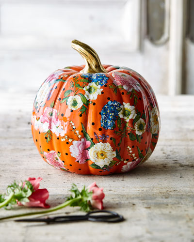 Flower Market Medium Pumpkin