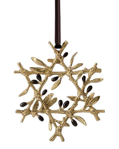 Olive Branch Star Ornament