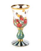 MacKenzie-Childs Heirloom Cordial Glass