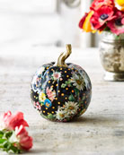 MacKenzie-Childs Flower Market Medium Pumpkin and Matching Items