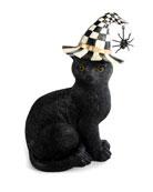 MacKenzie-Childs Black Cat Halloween Decoration