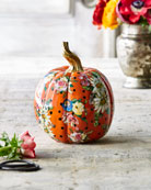 MacKenzie-Childs Flower Market Small Pumpkin