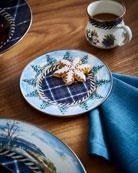 MacKenzie-Childs Highbanks Salad/Dessert Plate