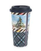 MacKenzie-Childs Highbanks Travel Cup