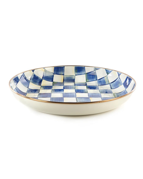 MacKenzie-Childs Royal Check Abundant Bowl