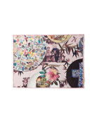 Christian Lacroix Folie Rose Pink Placemats, Set of