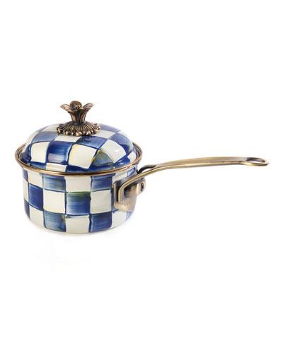 Royal Check 1-Qt. Saucepan