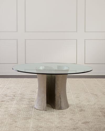 Serpentine Round Dining Table 60