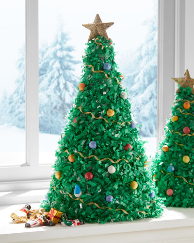 Tabletop Extra-Large Unfilled Christmas Tree Pinata