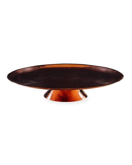 Sertodo Copper Sugar Mama Cake Plate