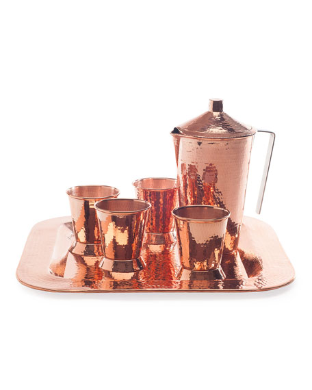 Sertodo Copper Iced Tea & Julep Set