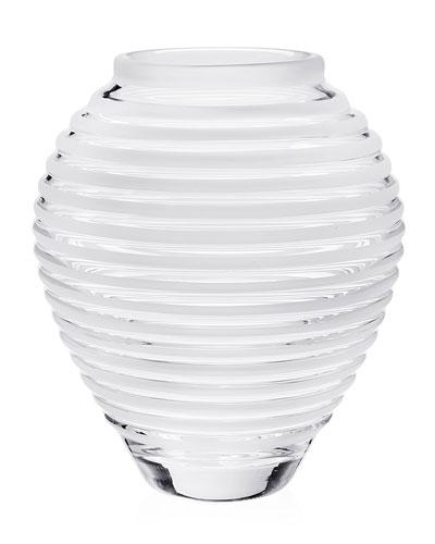 White Glass Vase Neiman Marcus