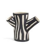 HAY Small Zebra-Print Tree Trunk Vase